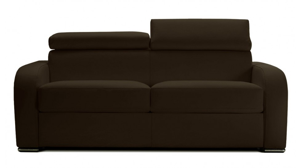 canap cuir convertible avec appui t te r glable. Black Bedroom Furniture Sets. Home Design Ideas