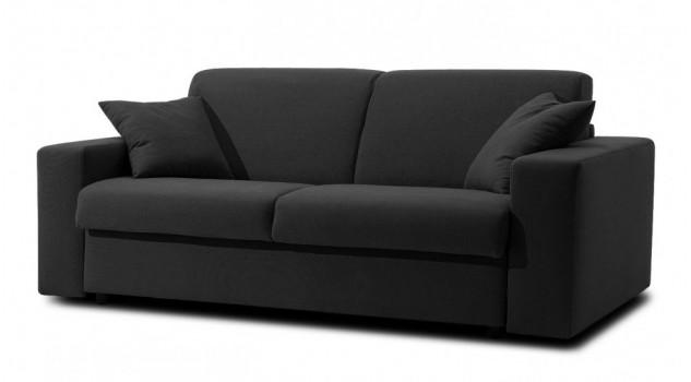 canapé-lit en tissu 3 places - Sofia