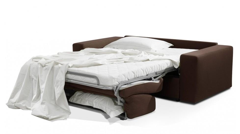 canap lit 3 places 140 cm en tissu coton prix usine italie. Black Bedroom Furniture Sets. Home Design Ideas