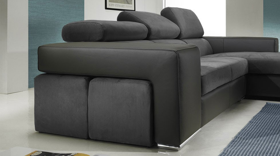 canap d 39 angle design microfibre pas cher canap angle. Black Bedroom Furniture Sets. Home Design Ideas