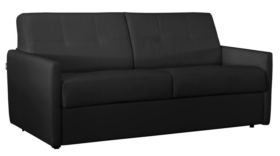 canape convertible 2 places cuir 28 images canap 233 lit en cuir 2 places couchage 120 cm. Black Bedroom Furniture Sets. Home Design Ideas
