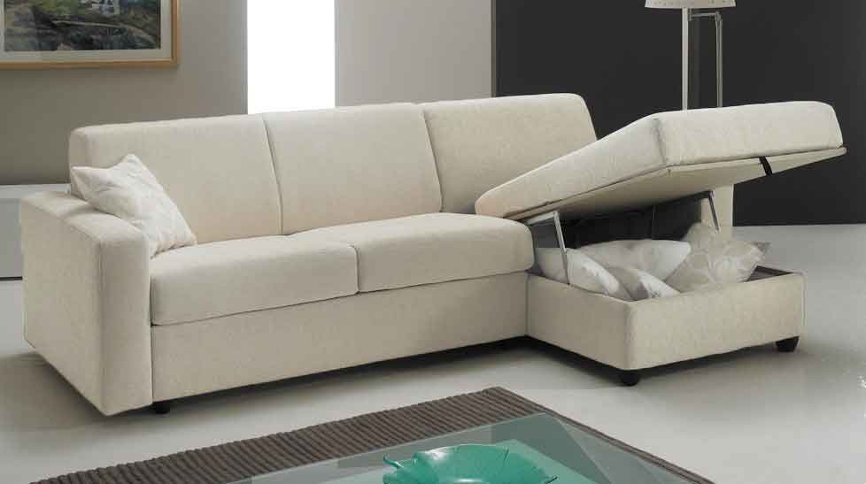 Canap lit angle reversible couchage 120 cm tissu direct for Canape reversible