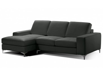 Canapé d'angle en cuir - Paris