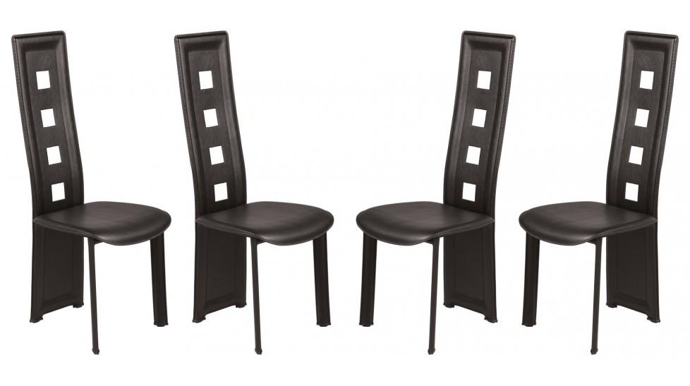 chaises design pas chere par quatre table de lit. Black Bedroom Furniture Sets. Home Design Ideas