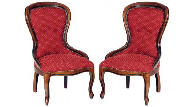 chauffeuses voltaire de style louis philippe chauffeuses. Black Bedroom Furniture Sets. Home Design Ideas