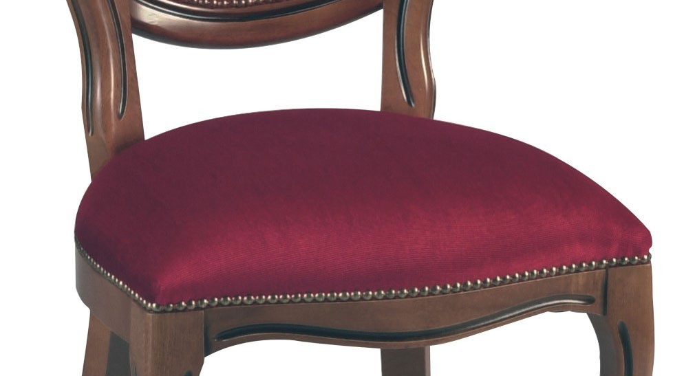 Chaises m daillon velours bordeaux chaise m daillon pas cher - Chaise medaillon velours ...