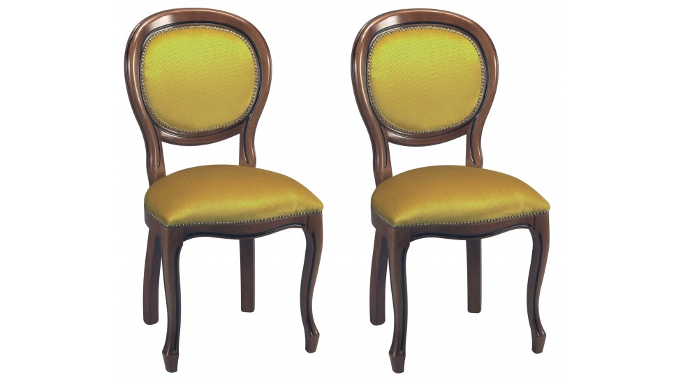 chaises m daillon velours or louis philippe. Black Bedroom Furniture Sets. Home Design Ideas
