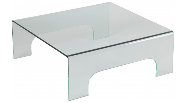 Table basse carr e en verre table de salon design pas cher - Table basse verre design pas cher ...