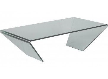 Table basse ovale en verre table basse design pas cher - Table basse design pas cher verre ...