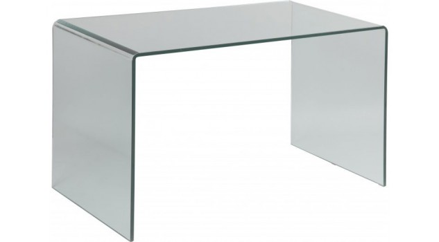 bureau en verre tremp courb bureau design. Black Bedroom Furniture Sets. Home Design Ideas