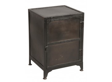 meuble de rangement en acier 10 tiroirs casier industriel. Black Bedroom Furniture Sets. Home Design Ideas