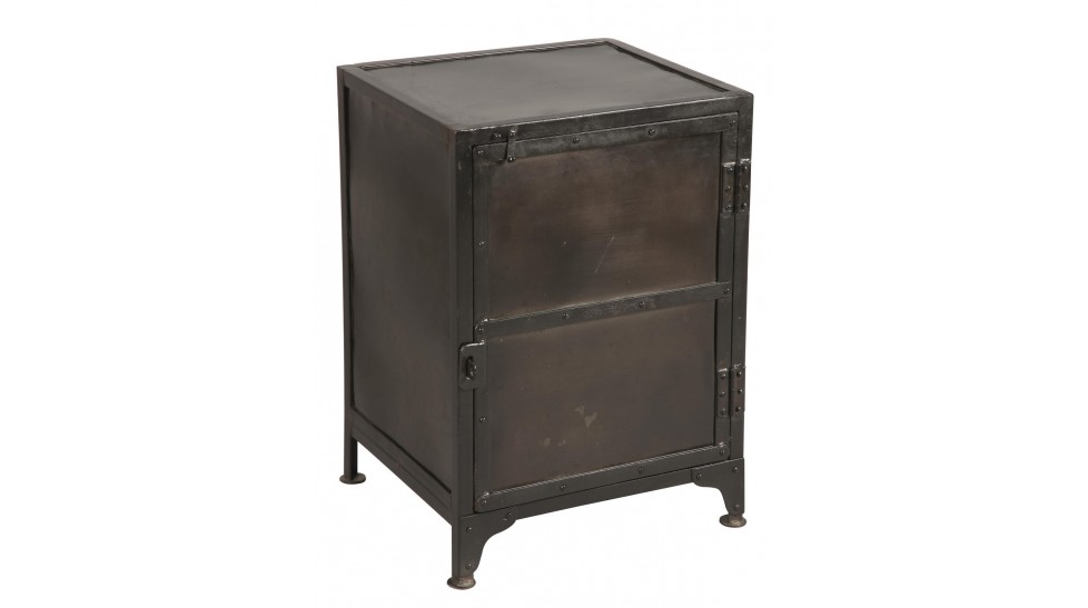 meuble de rangement 1 porte pour bureau meuble design industriel. Black Bedroom Furniture Sets. Home Design Ideas