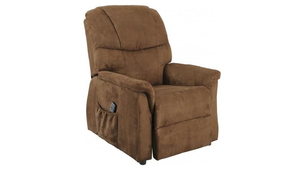 Fauteuil releveur lectrique microfibre macchiato fauteuil relaxation pas cher - Fauteuil releveur electrique pas cher ...