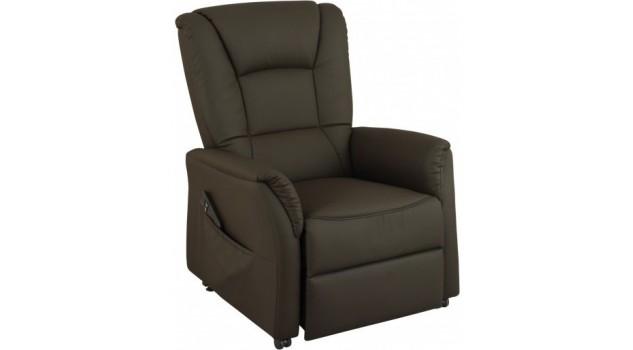 fauteuil releveur lectrique simili cuir fauteuil releveur pas cher. Black Bedroom Furniture Sets. Home Design Ideas