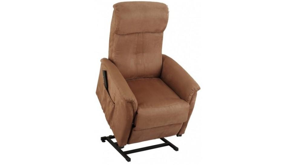 Fauteuil releveur lectrique microfibre fauteuil d tente pas cher - Fauteuil releveur pas cher ...