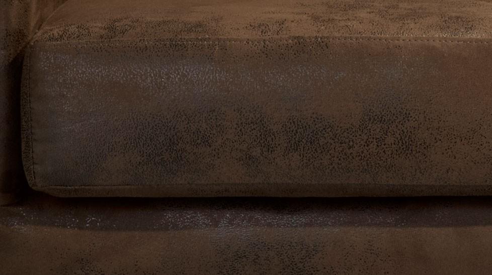 Fauteuil cabriolet microfibre aspect cuir vieilli fauteuil design pas cher - Fauteuil club microfibre aspect cuir vieilli ...