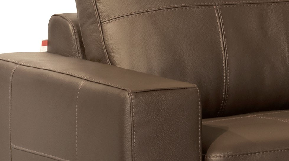 canap cuir marron 3 places canap cuir pas cher. Black Bedroom Furniture Sets. Home Design Ideas