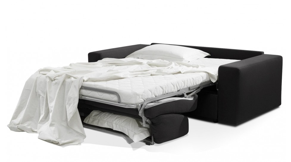 canap lit 2 places en tissu couchage 120 cm pas cher direct usine. Black Bedroom Furniture Sets. Home Design Ideas