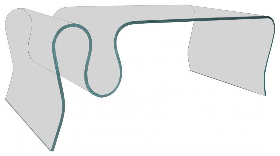 Table Basse Rectangulaire Avec Porte Revues Table Basse Verre