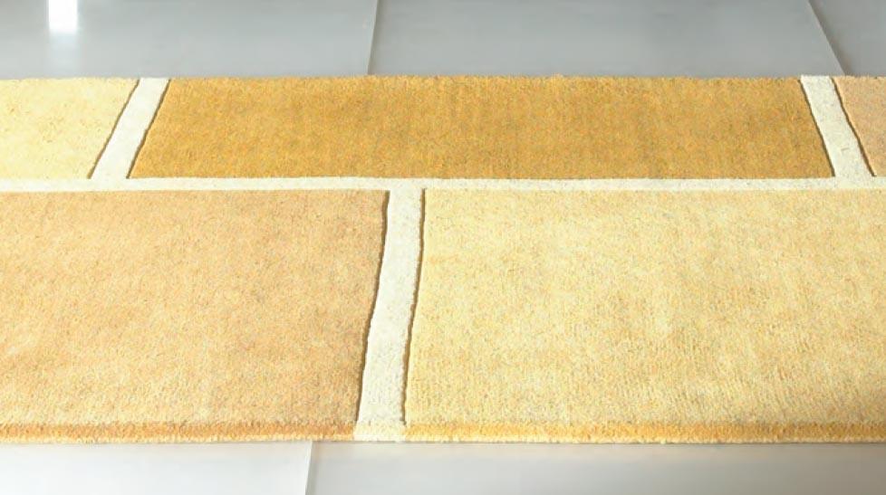 tapis en laine graphique beige tapis de qualit pas cher. Black Bedroom Furniture Sets. Home Design Ideas
