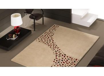 Tapis design en laine haut de gamme - Loxton