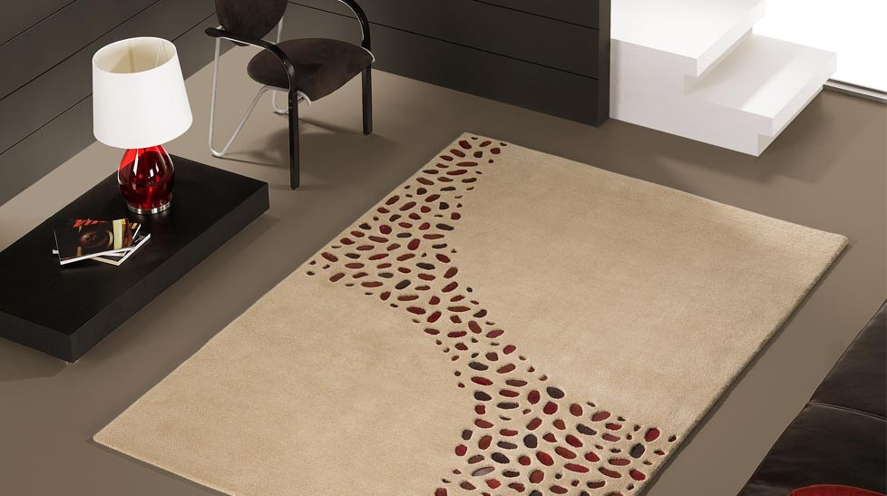 tapis design en laine et peaux tapis haut de gamme. Black Bedroom Furniture Sets. Home Design Ideas