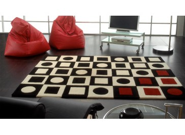 Tapis en laine design - Simbred