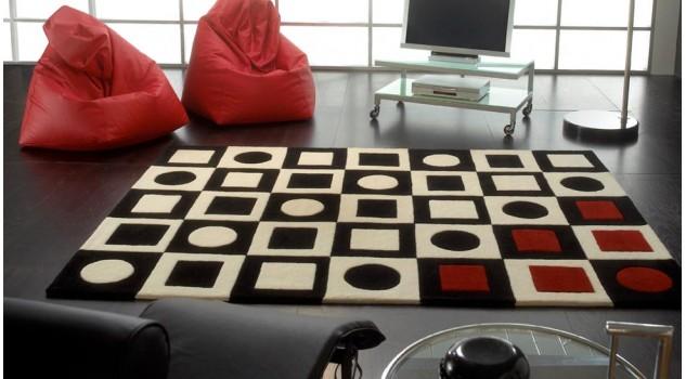 Tapis en laine design - Simbred