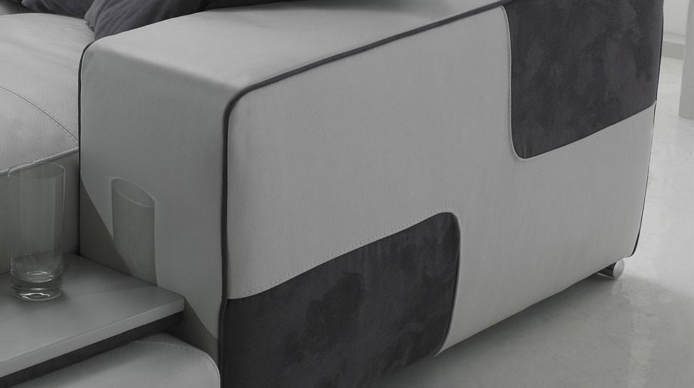 Canape D Angle Reversible En Cuir Pas Cher Canape Angle En Cuir Blanc